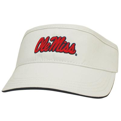 OLE MISS GOLF VISOR