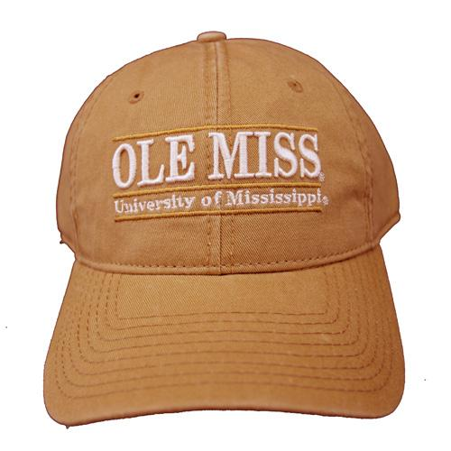 Copper Ole Miss Game Bar Cap
