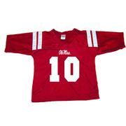 NO 10 FOOTBALL JERSEY RED