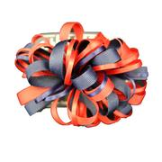 LARGE RED AND NAVY MULTI LOOP