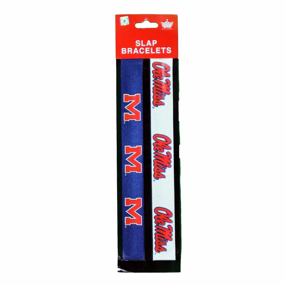 2 Pack Slap Bracelets