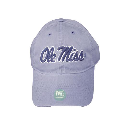 Relaxed Twill Ole Miss Cap