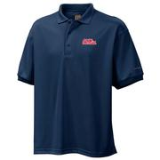 OLE MISS PERFECT CAST POLO NAVY
