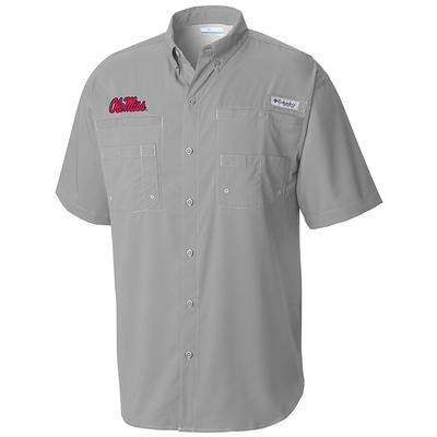 OLE MISS TAMIAMI SHIRT COOL_GRAY