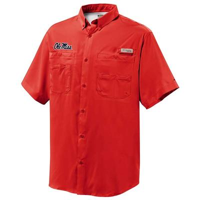 OLE MISS TAMIAMI SHIRT RED