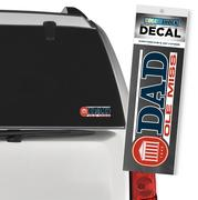 OLE MISS DAD DECAL