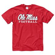 SCRIPT OLE MISS FOOTBALL TEE