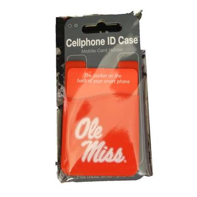 Red Cell Phone Id Case
