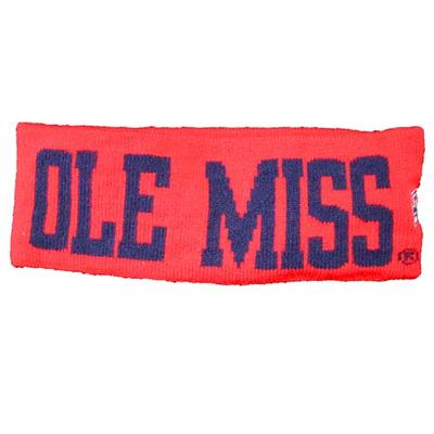 Red Ole Miss Rebels Earband
