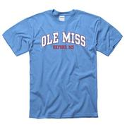 SS ARCHED OLE MISS OXFORD TEE
