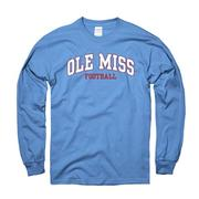 LS ARCHED OM FOOTBALL TEE