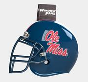 WINDOWFANZ OLE MISS HELMET