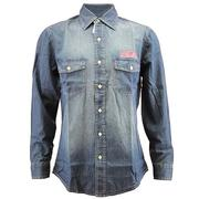 MENS LS CHAMBRAY
