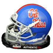 OLE MISS THROWBACK MINI HELMET