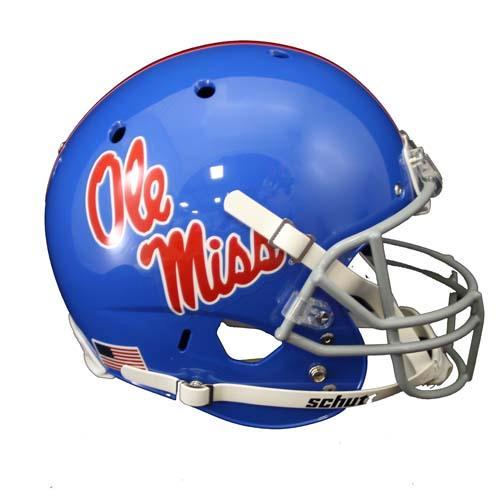Ole Miss Throwback Rep Helmet