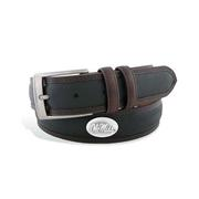 OLE MISS CONCHO TWO-TONE BELT