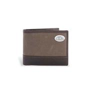 CANVAS LEATHER PASSCASE WALLET