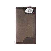 CANVAS LEATHER SECRETARY WALLET