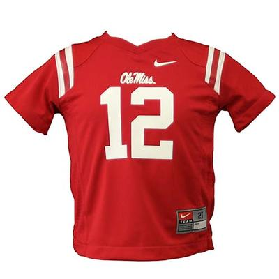 Toddler No 12 Ole Miss Jersey