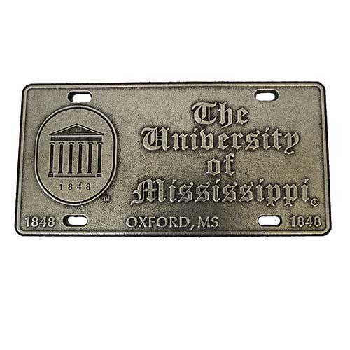 Lyceum Pewter License Plate
