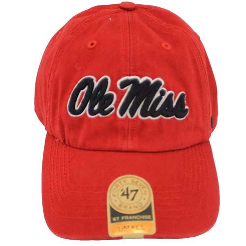 Red 47 Ole Miss Franchise Cap