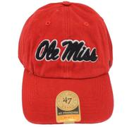 RED 47 OLE MISS FRANCHISE CAP RED