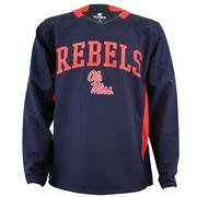 MENS OLE MISS PULL OVER JACKET