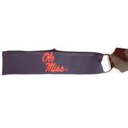 OLE MISS HEADBAND STACKED LOGO