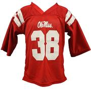 INFANT #38 FOOTBALL JERSEY RED