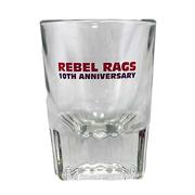 RR 10TH ANNIVERSARY SHOT GLASS