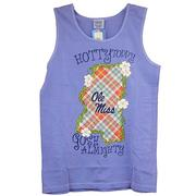OLE MISS STATE PLAID TANK