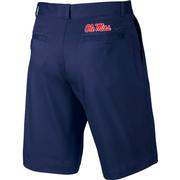 OLE MISS NIKE FLAT FRONT SHORT