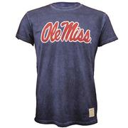SS OLE MISS OIL WASH TEE
