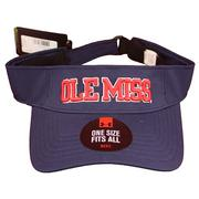 BLOCK OLE MISS RENEGADE VISOR