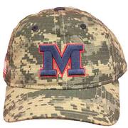 DIGITAL CAMO M BASEBALL CAP