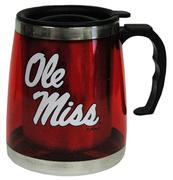RED ACRYLIC OLE MISS BIG BOY MUG