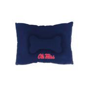 OLE MISS PET BED  NAVY