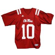 NO 10 ADULT REPLICA JERSEY RED
