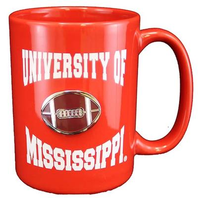 CANCUN FOOTBALL MEDALLION MUG