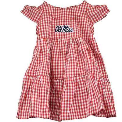 Brigitte Gingham Infant Dress