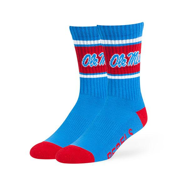 Ole Miss Duster Sport Sock