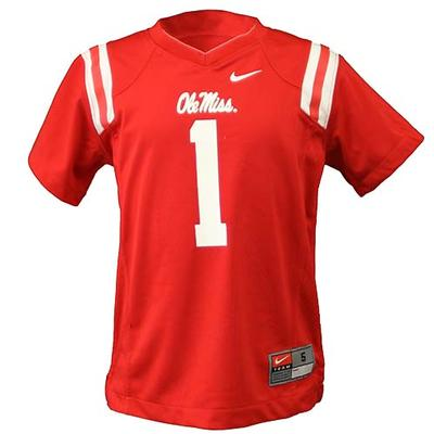 Kids No 1 Football Jersey