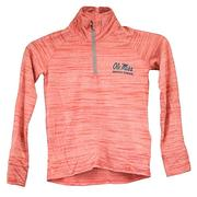 UA GIRLS SPACE TECH HALF ZIP
