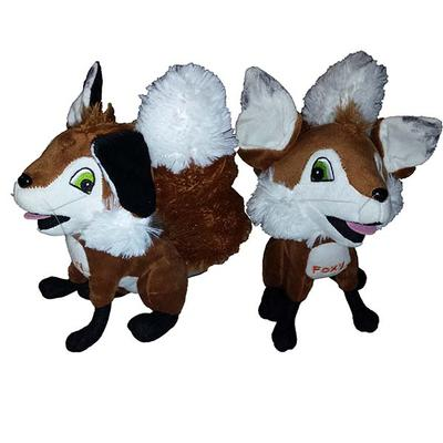 8 Inch Foxy Reb Plushy Toy