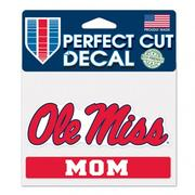 RED 4X5 OM MOM DECAL