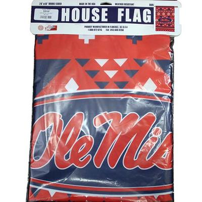 OM AZTEC HOUSE FLAG