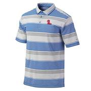 SS OM FAIRWAY STRIPE POLO