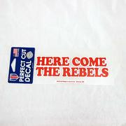 HERE COME THE REBELS WHITE