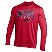 LS NUTECH HOME PLATE TEE