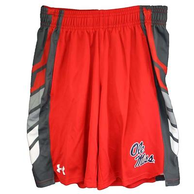 BOYS SELECT SHORTS RED